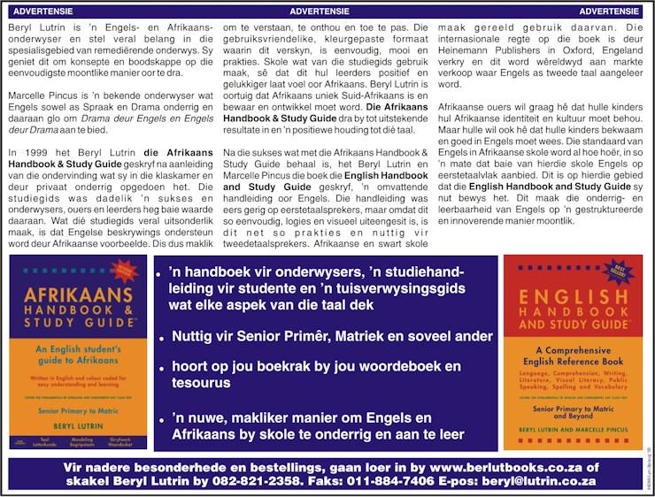 BEELD - AFRIKAANS ADVERTORIAL